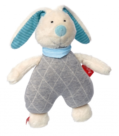 Sigikid 39041 Cuddly toy bunny mint Urban Baby Edition