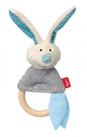 Sigikid 39042 Grapsy toy bunny mint Urban Baby Edition