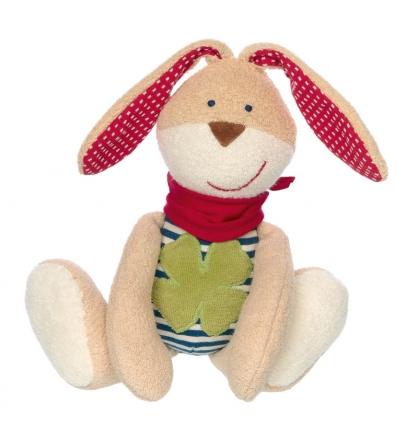 Sigikid 39049 soft playmate rabbit green