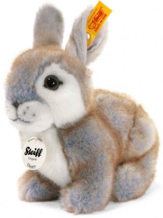 Steiff 080036 Happy Rabbit 18 grey