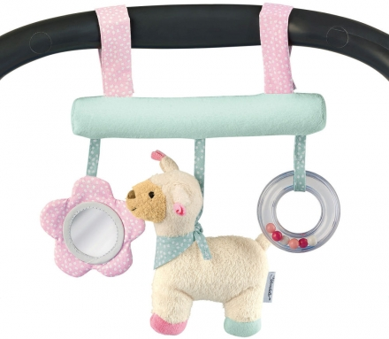 Sterntaler Toy to hang up zoo lama Lotte
