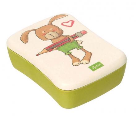 Sigikid 25045 lunch box rabbit Green