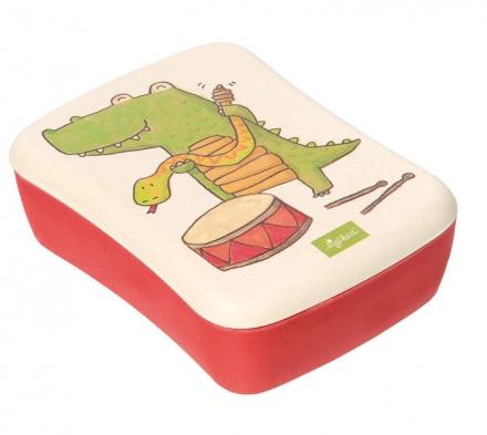 Sigikid 25048 lunch box crocodile Green