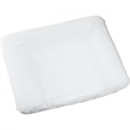 Odenwälder terrycloth cover for changing mat 75x85cm white