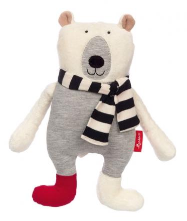 Sigikid 39128 Cuddly toy bear black & white