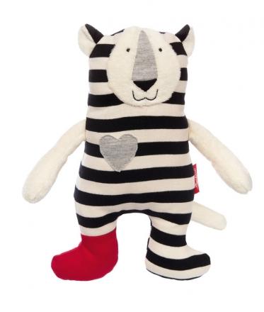Sigikid 39129 Cuddly toy tiger black & white