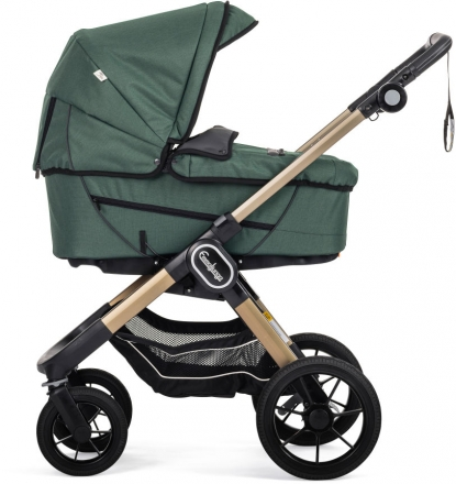 Emmaljunga NXT90F Eco green inclusive carrycot Supreme