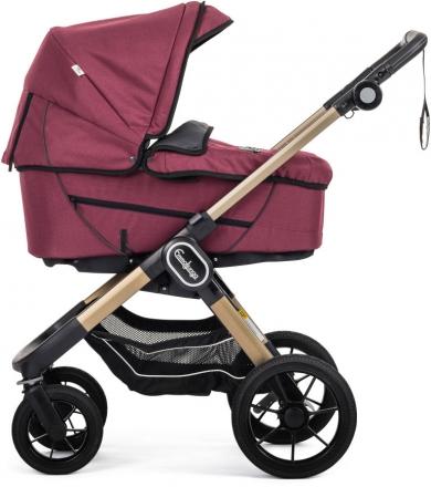 Emmaljunga NXT90F Eco red inclusive carrycot Supreme