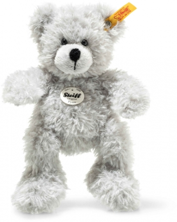 Steiff teddy bear Fynn 18 cm grey
