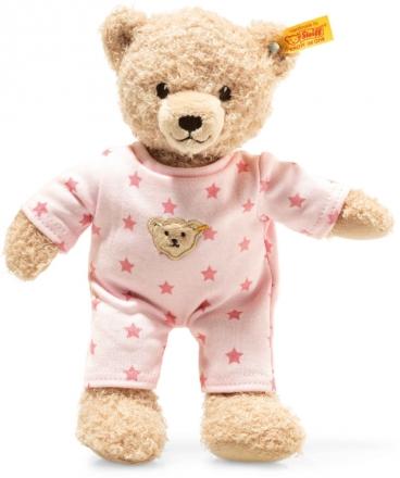 Steiff Teddybear Baby girl 25 cm beige / pink