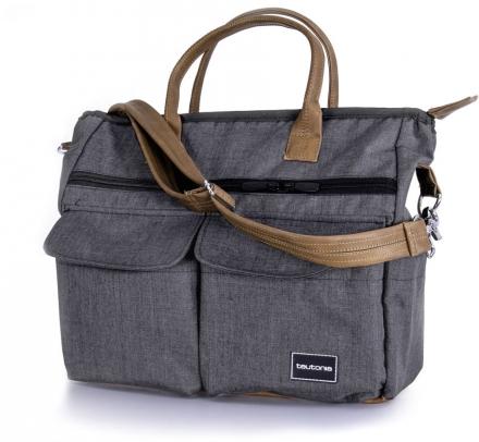 Teutonia Care changing bag melange grey