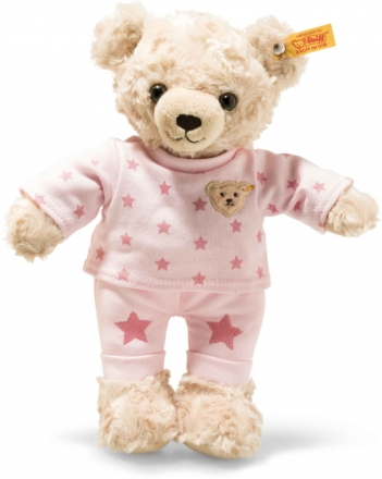 Steiff Teddybear girl 27 cm blond / pink