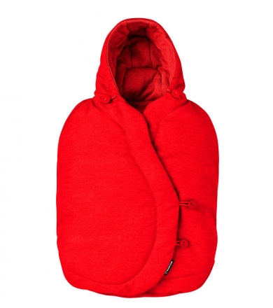 Maxi Cosi Footmuff for infant car seats nomad red