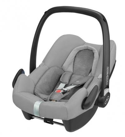 Maxi Cosi Rock + FamilyFix One i-Size Set Nomad Grey