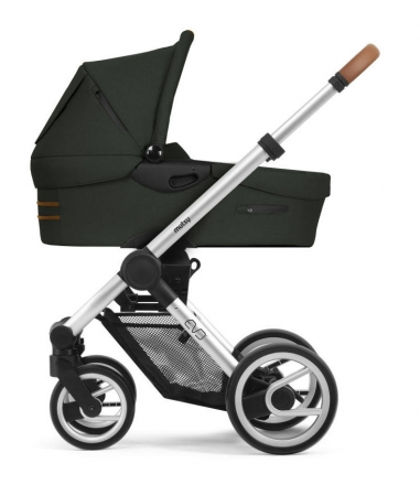 Mutsy Evo Bold Mountain Green 2019 incl. carrycot, seat and frame