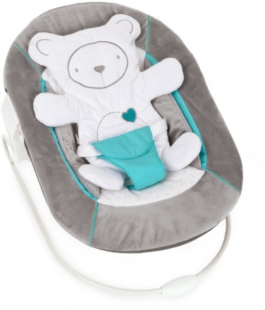 Hauck Alpha Bouncer 2 in 1 Hearts grey