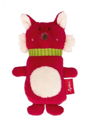 Sigikid 42277 Squeaking toy Fox Red Stars