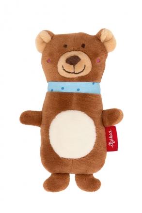 Sigikid 42316 Squeaking toy Bear Red Stars