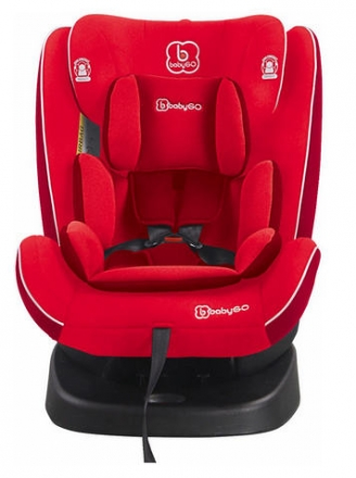 BabyGo Child Seat Nova red 0-36kg (Group 0/1/2/3)