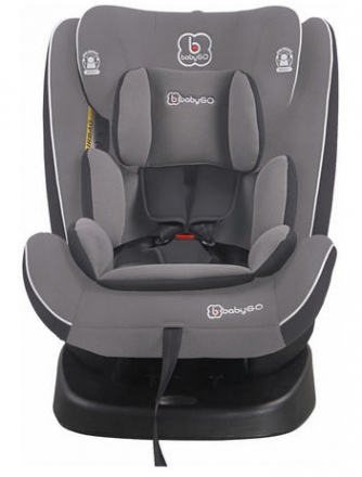 BabyGo Child Seat Nova grey 0-36kg (Group 0/1/2/3)