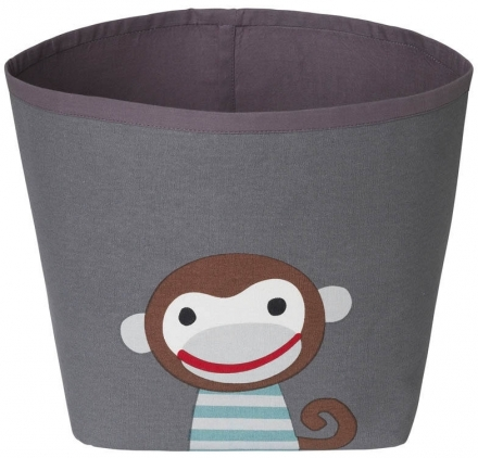 FRANCK & FISCHER storage basket Ida dark monkey