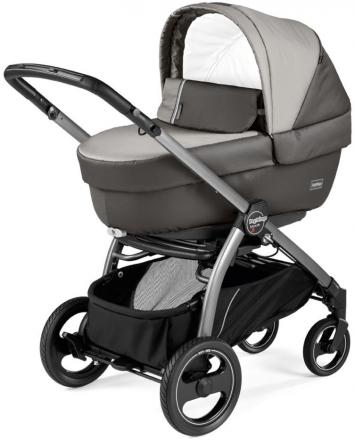 Peg Perego stroller set Book S Elite Titania Classic Grey