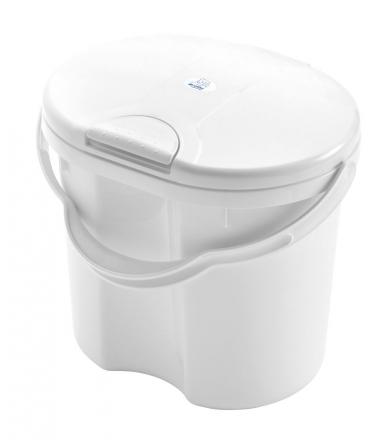 Rotho diaper bucket Top white