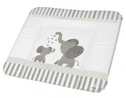 Rotho Wide changing pad 72x85 cm white Modern Elephants