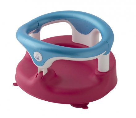 Rotho Baby bathing seat raspberry