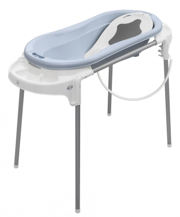 Rotho Bathtub station TopXtra sky blue/white