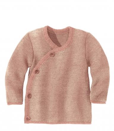 Disana Melange jacket 50/56 rose-nature