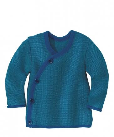 Disana Melange jacket 50/56 navy-blue