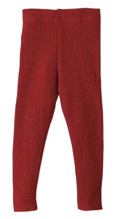 Disana bio merino lamb wool legging 62/68 bordeaux