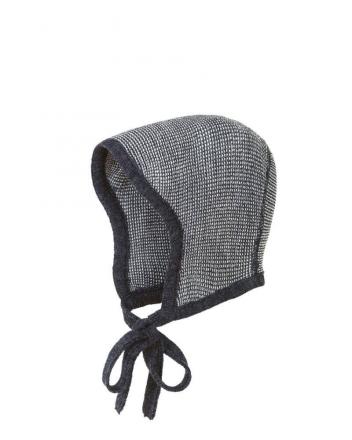 Disana knitted hood Gr.1 anthrazit