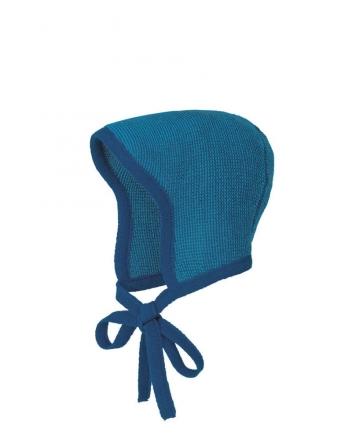 Disana knitted hood size 0 marine