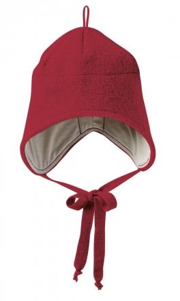 Disana boiled wool hat size1 bordeaux