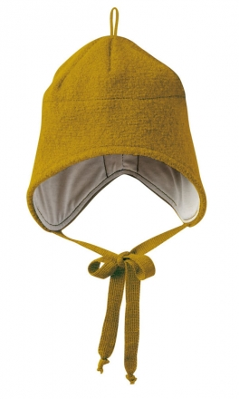Disana boiled wool hat size1 gold