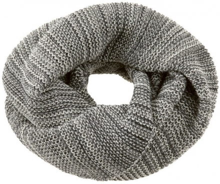 Disana wool loop scarf size 1 anthracite
