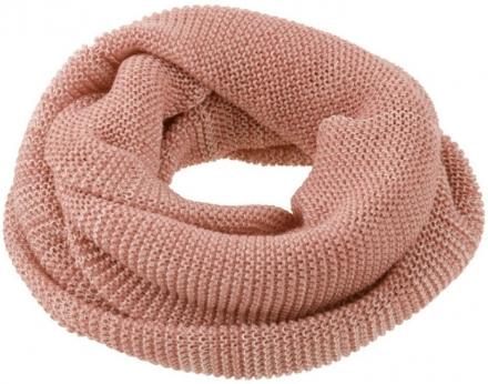 Disana wool loop scarf size 2 rosé