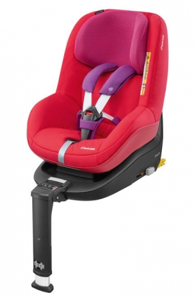 Maxi Cosi 2way Pearl Red Orchidee - up to 6 months till 4 years