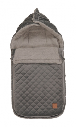 Kaiser Stroller footmuff Velvet Kiki coll. 19/20 grey