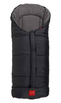 Kaiser Footmuff Iglu thermo fleece anthracite/light grey
