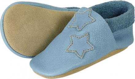 Sterntaler Leather baby-bootees 21/22 blue