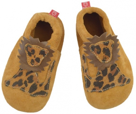 Anna and Paul suede toddler shoe Sweetheart rose with leather sole size L-22