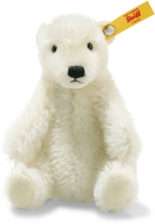 Steiff 026690 Wildlife Giftbox Polar Bear Mohair white