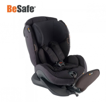 HTS BeSafe iZi Plus X1 Midnight Black Mélange 0-25 kg