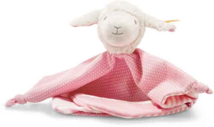 Steiff Cuddly Cloth lamb Liena 28cm white/pink