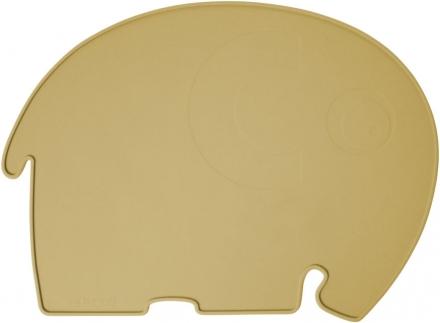 Sebra Silicone placemat Fanto the elephant savannah yellow