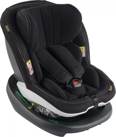HTS BeSafe iZi Modular i-Size Premium Car Interior Black Reboarder from 6 months