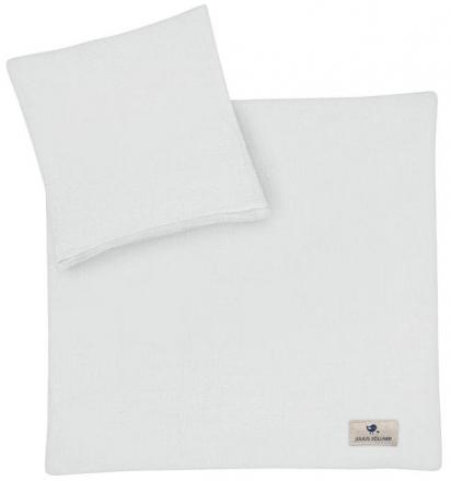 Zöllner Muslin bedding grey 80x80cm